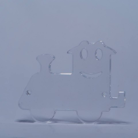 puzzle / mobile 3D_Trenino