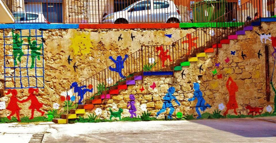 murale #lagioiadeibambini Siracusa