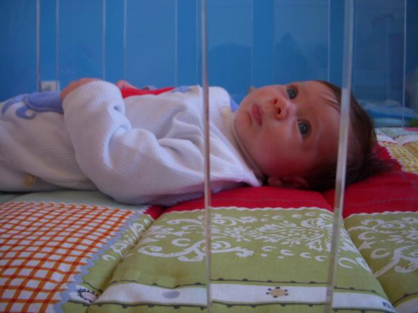 Culla Lettino trasparente baby testimonial