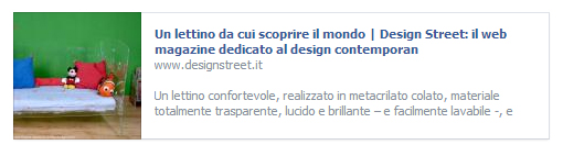 recensione Lettino evolutivo Gabriel - Design street
