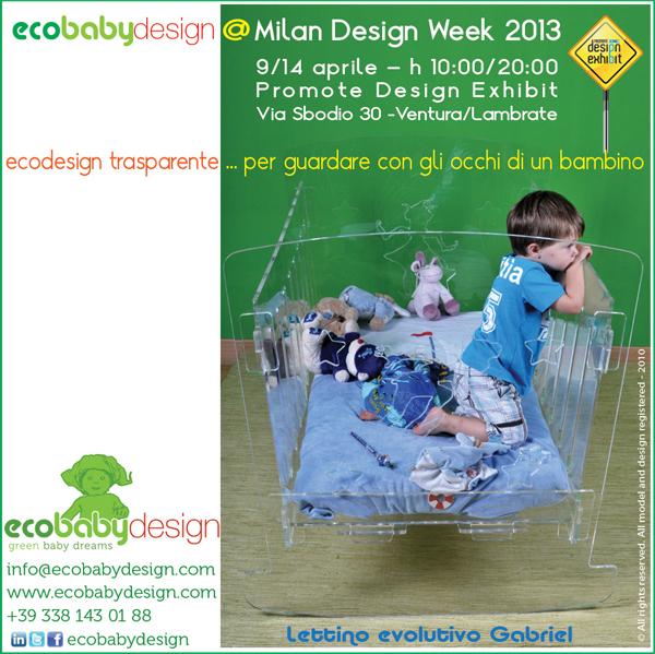 Ecobabydesign@Milan Design Week 2013